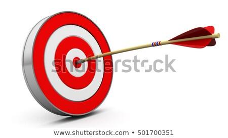 Darts. Red target Stock photo © Designer_things