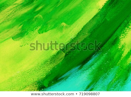 Green oil paint Stock photo © Stocksnapper