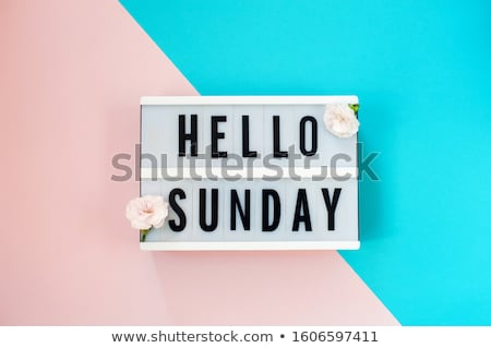 sunday morning stock photo © carlodapino