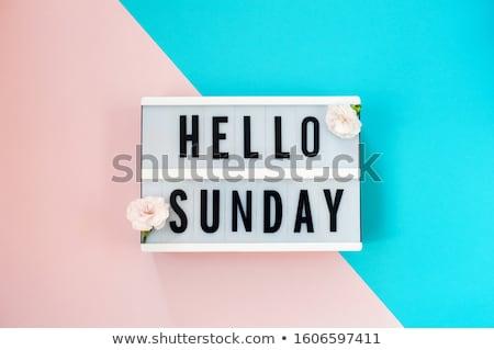 sunday morning Stock photo © carlodapino