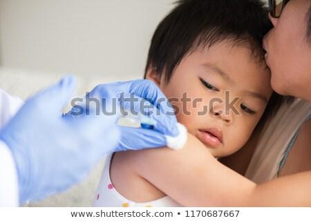 infermiera · paziente · iniezione · tubo · medici · droga - foto d'archivio © photography33