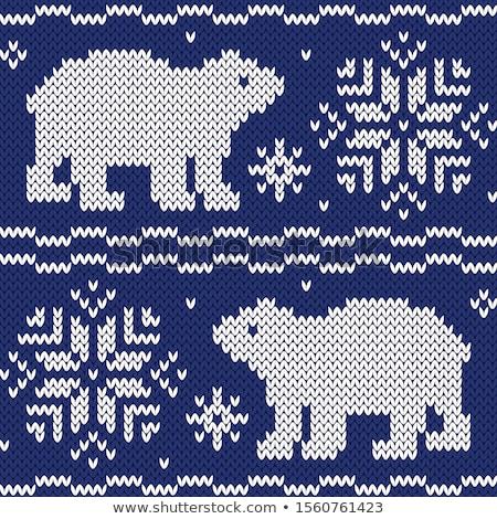 Woolen background  Stock photo © tannjuska