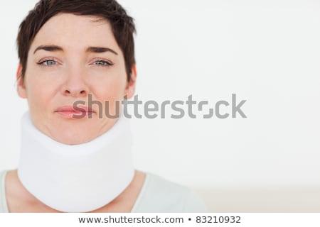 üzücü kadın cerrahi bekleme odası vücut Stok fotoğraf © wavebreak_media