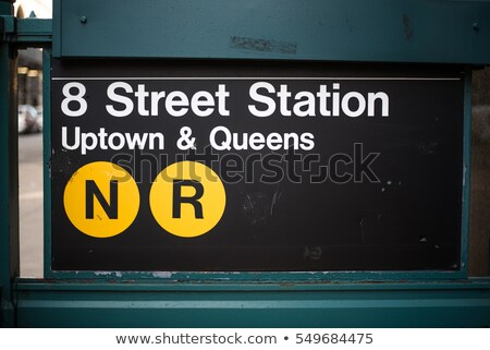 Brooklyn NYC Subway Sign Stock photo © ArenaCreative