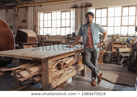 Portrait of a tradesman Stock photo © photography33