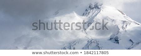 Kaskada góry widoku górskich Zdjęcia stock © jkraft5