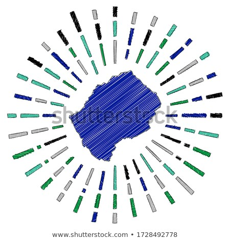 флаг Лесото стороны цвета стране стиль Сток-фото © claudiodivizia