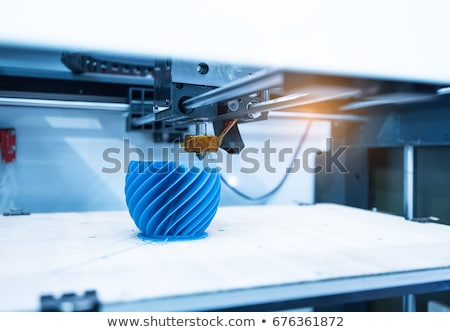 3D · impressora · modelo · profissional · protótipo · dispositivo - foto stock © suljo