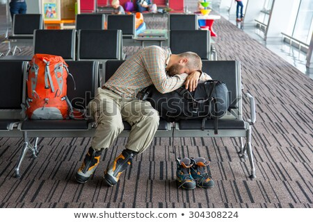 Tired traveler  stock photo © Toltek