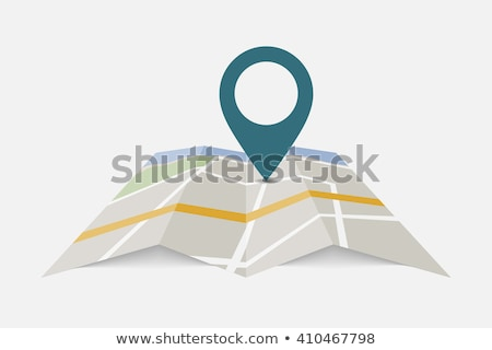 Cool gps pointers with network symbol Stock photo © vipervxw