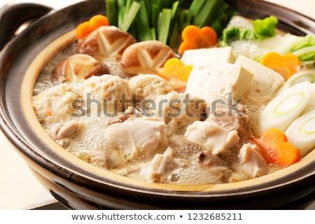 Chicken hot pot Stock photo © varts