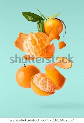 Fresh and juicy mandarin fruits  Stock photo © nessokv