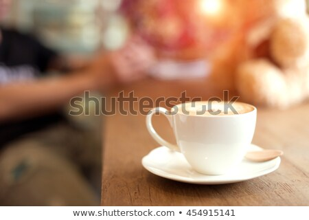 Work station in coffee shop stock photo © punsayaporn