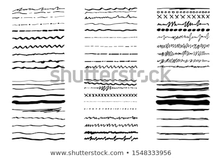 diyagonal · hatları · siyah · beyaz · model · tekrar - stok fotoğraf © kali