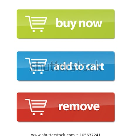 Add To Cart Green Vector Icon Button Stock photo © rizwanali3d