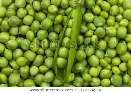 Green pea background Stock photo © ozaiachin