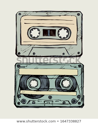 old reel tape recorder set Stock photo © tracer