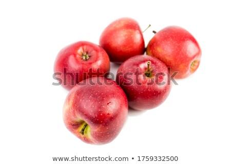 rojo · príncipe · manzanas · frescos · maduro - foto stock © caimacanul