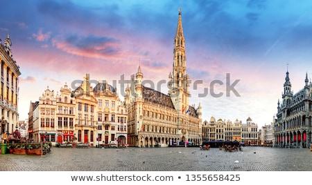 grand place in brussels stock photo © andreykr