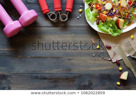 Gezonde vers fitness vruchten gezondheid Stockfoto © JanPietruszka