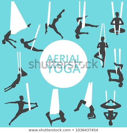 ingesteld · vrouw · mediteren · yoga · meisje · gezondheid - stockfoto © anastasiya_popov