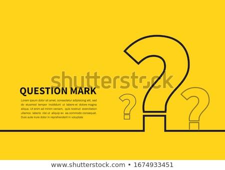 cevaplar · önde · yol · işareti · yüksek · karar · grafik - stok fotoğraf © fuzzbones0