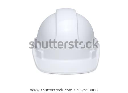 White hard hat Stock photo © ozaiachin