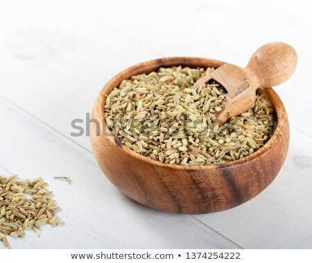 Pile of Organic Aniseed (Pimpinella anisum) Stock photo © ziprashantzi