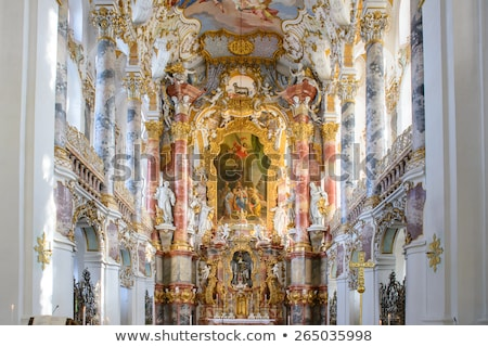 Interior of Pilgrimage Church Germany Stock photo © vichie81