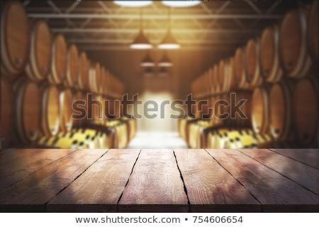 Illustration Winery boire raisins liquide contenant Photo stock © adrenalina