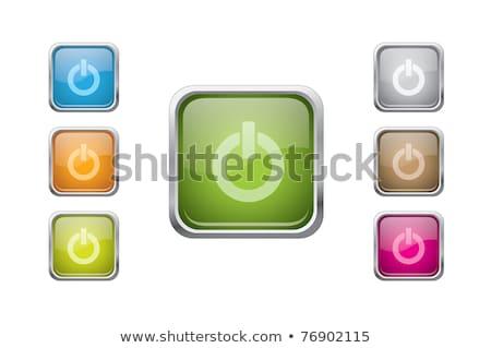 повернуть · кнопки · бизнеса · технологий · ключевые - Сток-фото © faysalfarhan