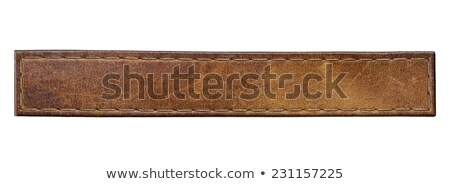 Old Leather Belt Photo stock © donatas1205