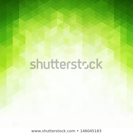 Abstract  green geometric technology background  Stock photo © fresh_5265954