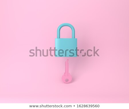 colorful keys in the lock stock photo © make