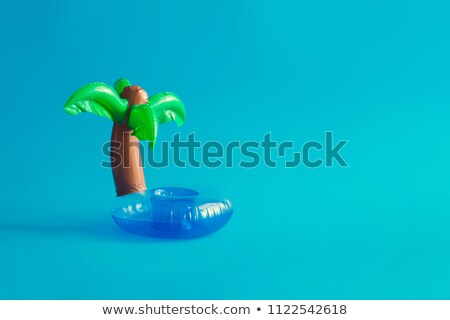 Inflável palma ilustração água natureza mar Foto stock © adrenalina