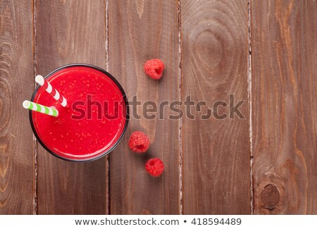 Strawberry in fresh smoothie  Stock photo © manaemedia