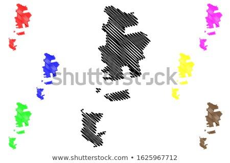 Jednostka region Mołdawia banderą wyschnięcia ziemi Zdjęcia stock © grafvision