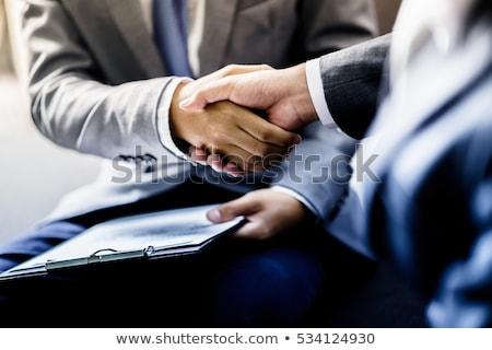 Sealing the deal Stock photo © Minervastock