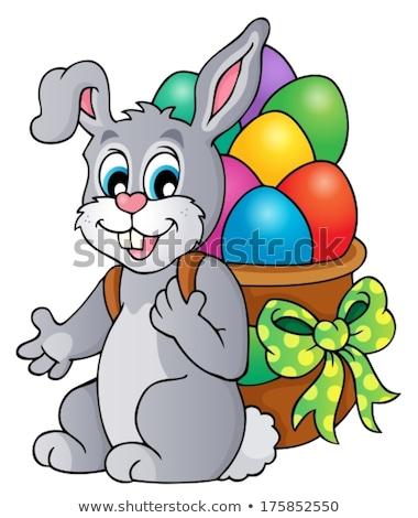 Easter rabbit thematics 6 Stock photo © clairev