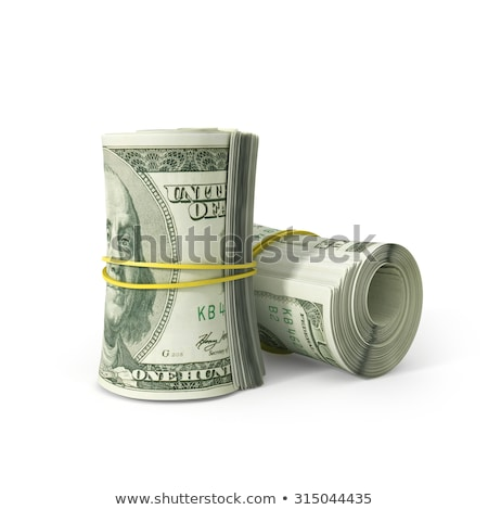 Rolled US Dollar Stock photo © bdspn