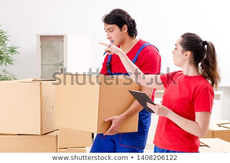 Professional Movers Doing Home Relocation Stock photo © AndreyPopov