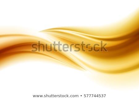 Beautiful Gold Satin. Drapery Background. Soft satin Stock photo © fresh_5265954