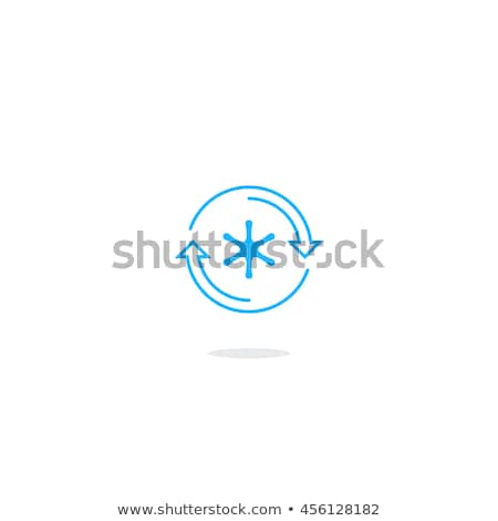 Air conditioning and refrigeration services concept vector illustration Stock photo © RAStudio