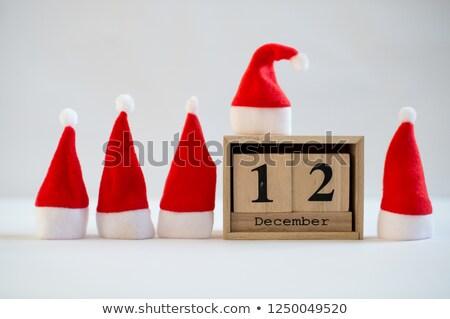 Cubes 12th December Stock photo © Oakozhan