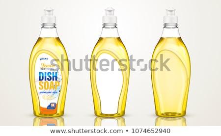 şişe deterjan sıvı ayarlamak vektör Stok fotoğraf © pikepicture