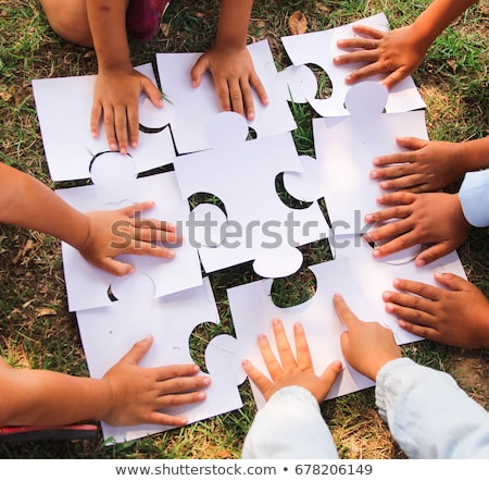 Diverse Children Working Together Stock photo © Lightsource