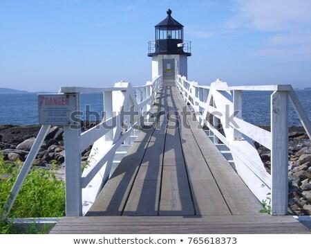 punkt · latarni · Maine · USA · morza · bezpieczeństwa - zdjęcia stock © phbcz