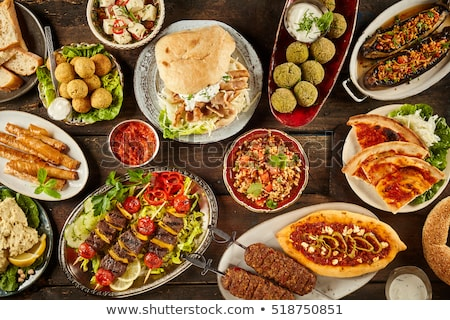 mediterranean cuisine Stock photo © digoarpi