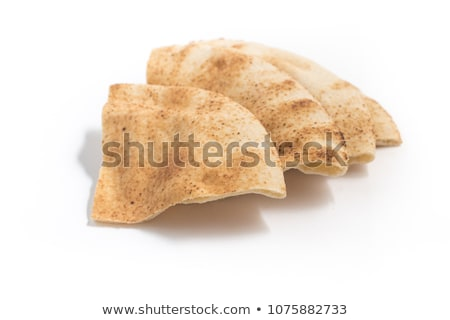 Isolado pita pão branco fundo indiano Foto stock © M-studio