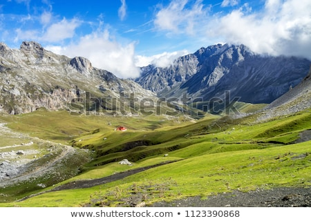 Paysage nature montagnes Photo stock © HectorSnchz